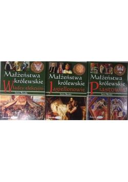 Małżeństwa Królewskie, 3 książki