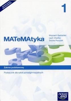 MATeMAtyka 1 Podręcznik wieloletni Zakres podstawowy