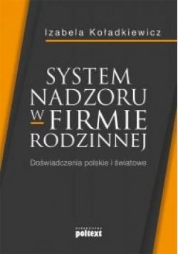 System nadzoru w firmie rodzinnej