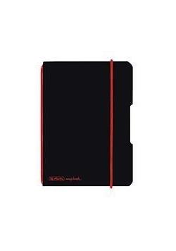 Notatnik A6/40K kratka My.BookF czarny
