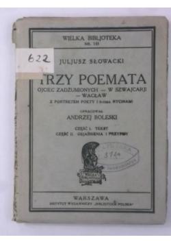 Trzy Poemata, ok. 1930 r.