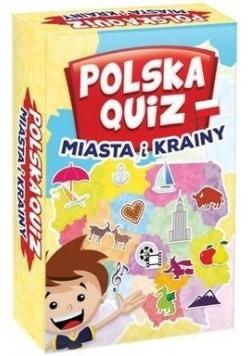 Polska Quiz. Miasta i Krainy