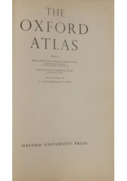 The Oxford Atlas