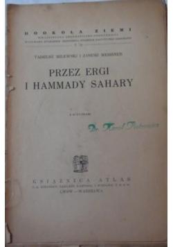 Przez Ergi i Hammady Sahary, 1934 r.