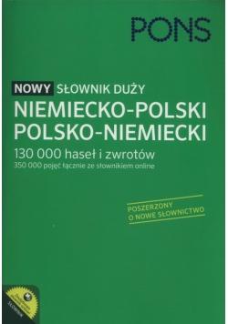 PONS Nowy słownik duży niemiecko-polski, polsko-niemiecki