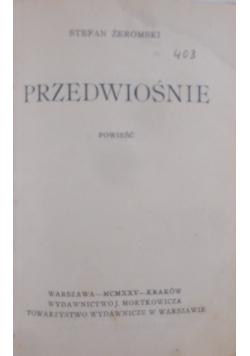 Przedwiośnie, 1925 r.