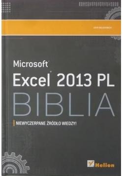 Microsoft Excel 2013 PL Biblia