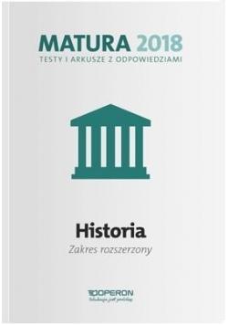 Matura 2018 Historia. Testy i arkusze ZR