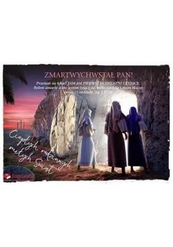 Kartka Wielkanoc 2 - ZMARTWYCHWSTAŁ PAN!