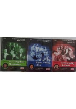 Kolekcja Polskich Kabaretów, zestaw 3 płyt DVD