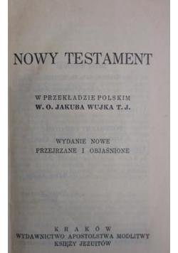 Nowy Testament w przekładzie Jakuba Wujka, 1936 r.