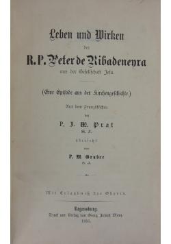 Leben und Wirken,1885r.