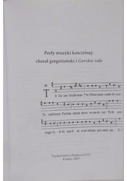 Perły muzyki kościelnej: chorał gregoriański i Gorzkie żale