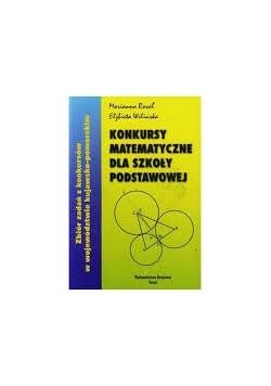 Konkursy matematyczne dla szkoły podstawowej
