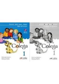 Colega  1- podręcznik + ćwiczenia