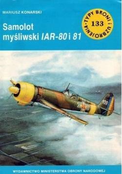 Samolot myśliwski IAR 80 i 81