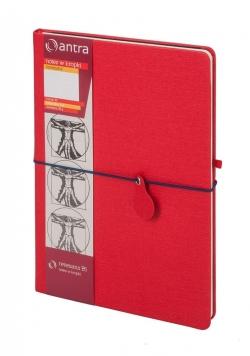Notes B5 Kropki Renesans Czerwony ANTRA