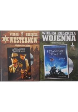 Wielka kolekcja wojenna/Wielka kolekcja westernów, płyty dvd