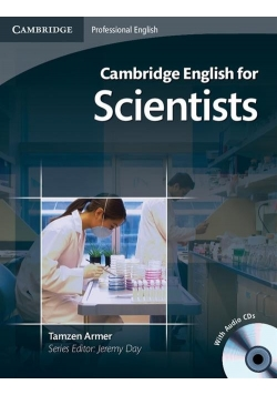 Cambridge English for Scientists Student's Book + CD
