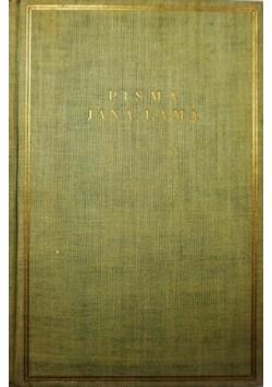 Pisma Jana Lama, Dziwne kariery, 1938 r.