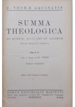 Summa Theologica, 1937 r.