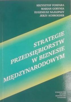 Strategie Przedsiębiorstw w biznesie międzynarodowym