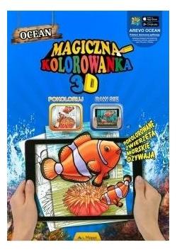 Magiczna kolorowanka 3D - Zwierzęta morskie