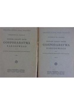 Ogólne zasady nauki gospodarstwa narodowego, tom I-II, 1926r.