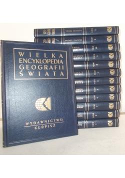 Wielka encyklopedia geografii świata, Tom I-XII, XIV