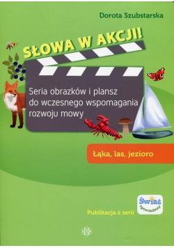 Słowa w akcji Łąka, las, jezioro