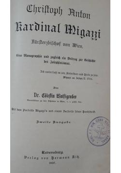 Christoph Anton Cardinal Migazzi , 1897 r.