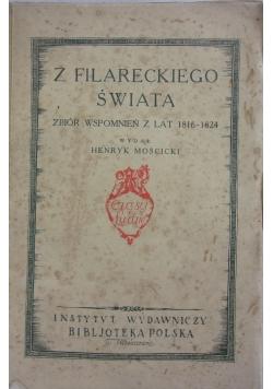 Z filareckiego świata. Zbiór wspomnień z lat 1816-1824.