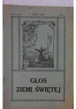 Głos Ziemi świętej Nr 3. 1935 r.