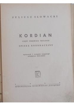 Kordian , 1946r
