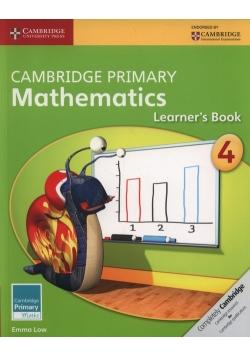 Cambridge Primary Mathematics Learner's Book 4