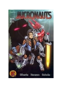 Micronauts # 1 2002 Certificate of Authenticity