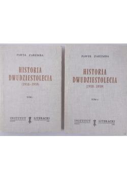 Historia dwudziestolecia (1918-1939), Tom I-II