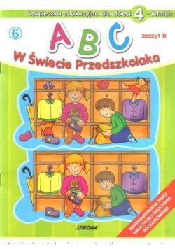 ABC w świecie przedszkolaka B/4 (6)  LIWONA