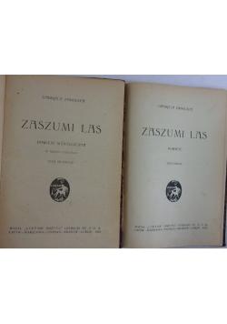 Zaszumi las 1922r. tom 1-2