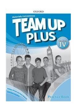 Team Up Plus 4 Materiały ćwiczeniowe