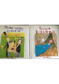 Śpiąca królewna/ Nowe szaty cesarza, 2 książki