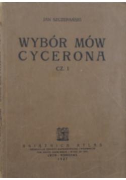 Wybór mów Cycerona, 1927 r.