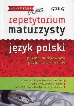 Repetytorium maturzysty język polski poziom podstawowy poziom rozszerzony