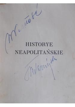 Historye neapolitańskie  wiek XIV-XVIII, 1917 r.