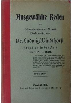 Ausgewahlte Reden 1902 r.