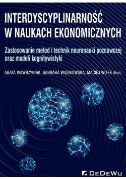 Interdyscyplinarność w naukach ekonomicznych