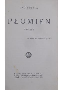 Płomień , 1928 r.