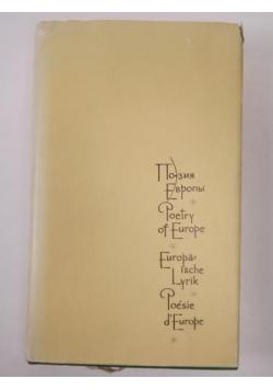 Poetry of Europe