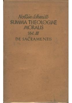 Summa Theologiae Moralis, Tom III,  1941 r.