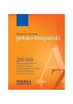 Podręczny słownik polsko - hiszpański